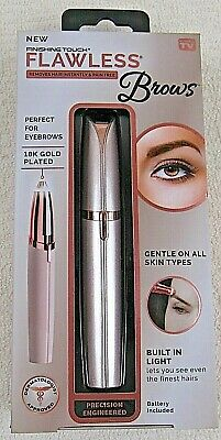 Finishing Touch Flawless Brows Women's Painless Facial Hair Remover NEW IN BOX