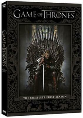 Game of Thrones: The Complete First Season =Region 2 DVD,sealed=