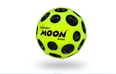 Waboba Moon Ball Extreme Bounce Fast Spin Light Weight Throw Catch Toy Yellow