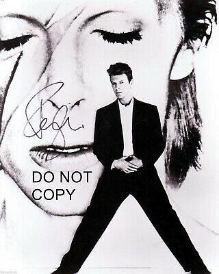 David Bowie Signed 8x10 Autographed REPRINT PHOTO Music Legend RP