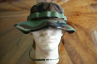 Boonie Hat BDU RIPSTOP CAMO COMBAT FLOPPY HAT BOONIE CAP 7 5/8 - New with tags