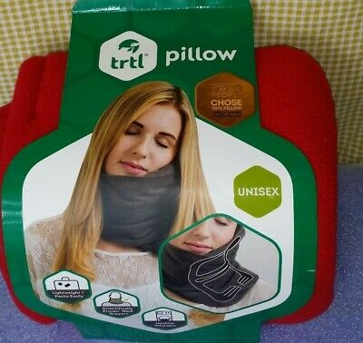Trtl Pillow ~ Scientifically Proven Super Soft Neck Support Travel Pillow Red