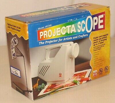 Projecta Scope Model #PJ768, for artists and crafters, magnify up to 5 times