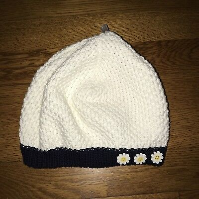 NWT 5 6 7 y Gymboree CUTE AS A BUTTON Sweater HAT BERET xl xxl vintage fall