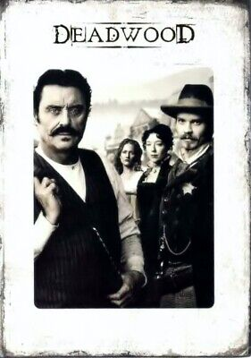 Deadwood - The Complete Series  19 DVD  Box Set New Free Shipping