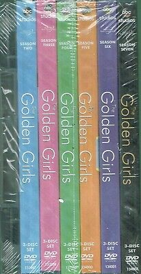 The Golden Girls Complete Series Bundled 21 DVD  Box Set New Free Shipping