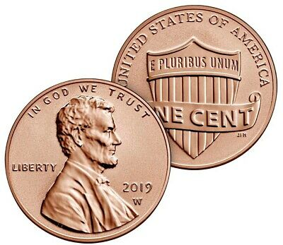 Rare 2019 W Reverse Proof Lincoln Penny   * * * FREE SHIPPING * * *