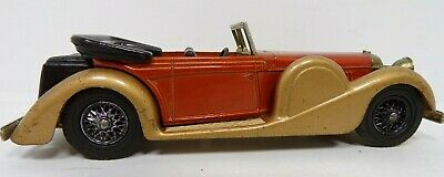 Matchbox Car 1938 Lagonda Drophead Coupe / Lesney Made in England Dated 1972