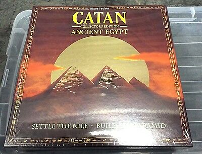 Settlers of Catan Ancient Egypt Collector's Limited Ed. Mayfair Game New Sealed