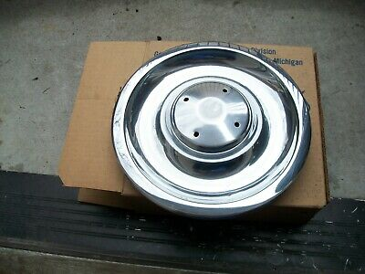 1967 Corvette Chevelle SS Disc Brake NOS Flat Rally Wheel Cap GM # 3901712.