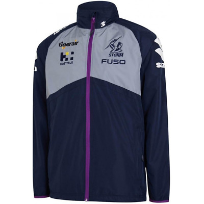 NEW Official 2019 Melbourne Storm Mens Wet Weather Jacket