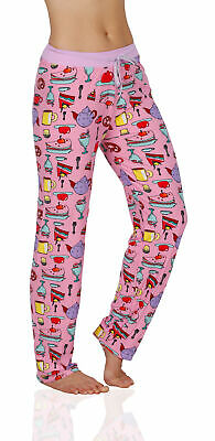 Victoria Collection Womens Silky Pajama Lounge Pants