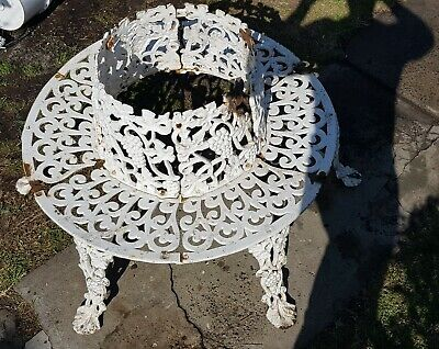 Antique Cast Iron Tree Surround Bench