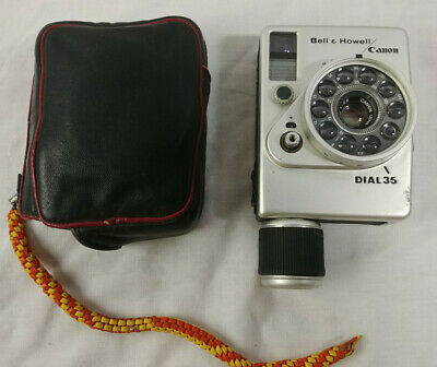 Bell & Howell Dial 35 Canon 28mm f2.8 35mm Half Frame Mechanical Film Camera