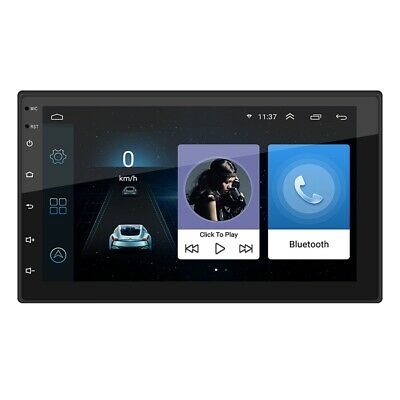 """Double Din WIFI Android 8.1 Car Stereo 7"""" Inch  GPS Navigation Radio Player HOT"""