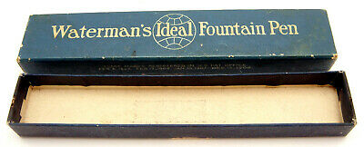 Vintage Watermans Ideal Fountain Pen Box Only