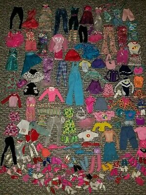 Barbie Doll Fashionista Swappin Fashion Made Move Liv Outfit Clothes Shoes Lot