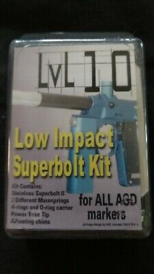 AGD Lvl 10 Low Impact Bolt Set Airgun Designs Automag Micromag Minimag & RT Each