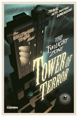 California Adventures Tower Of Terror - Collector Poster 4 Sizes (B2G1 Free!!)