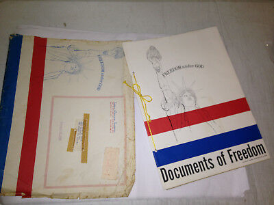 VTG documents of freedom set constitution, declaration of independence, bill of