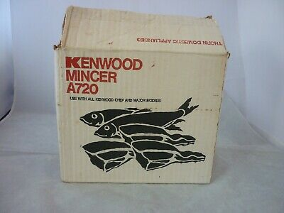 KENWOOD A720 Mincer Attachment for Kenwood Chef and Major Machines Good Conditon