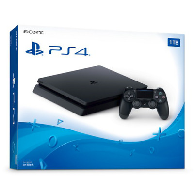 PlayStation 4 Console Slim 1TB Brand New - Black