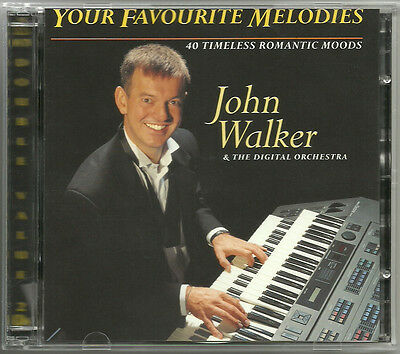 John Walker Your Favourite Melodies 3 CDs Organ 🎹 Piano  🎼 Keyboard ♬♬ Music