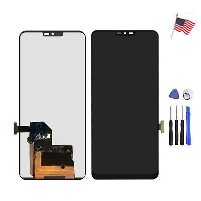 LCD Display Screen Digitizer Touch  Assembly Replacement for LG G7 ThinQ G710 US