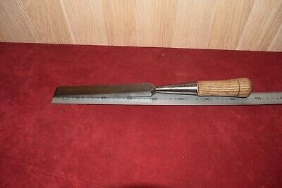 Vintage New Haven Edge Tool Co Large Mortice Chisels Woodworking Old Tools