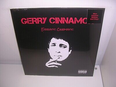 Gerry Cinnamon - Erratic Cinematic Ltd Red Vinyl Lp Mint/Sealed + Free Uk P&P