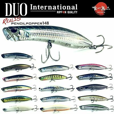 0979 Duo Realis Pencil 85 SW Topwater Floating Lure ACC0170