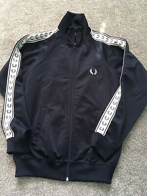 Fred Perry Tracksuit Top Large Boys