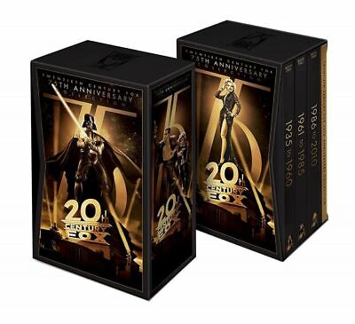 20th Century Fox: 75th Anniversary Collection 76-Disc DVD Gift Box Set - NEW