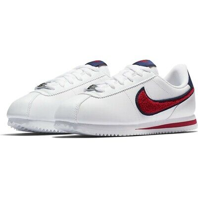 Nike Cortez TB 2003 Mens Lace Up Trainers Casual White 306286 161 D38