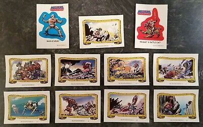 Masters of the Universe 11 original Sticker - Set B - 1984 - Mattel