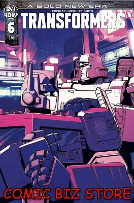 Transformers #6 (2019) 1St Printing Lawrence Main Cover A Idw Comics