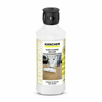 500ml KARCHER FLOOR DETERGENT WOOD OILED/WAXED CONCENTRATE SUITS FC5 6.295-942.0