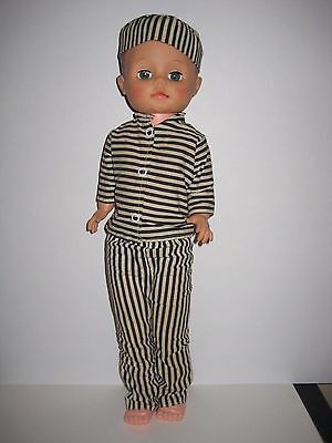 """BAD BOY"" STORE VINTAGE PROMOTIONAL DOLL  RELIABLE TOYS 1960s"