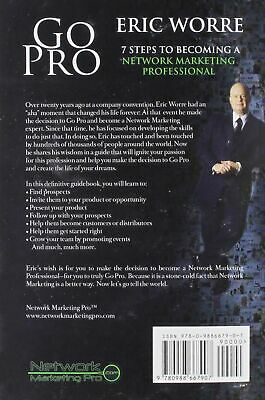 Go Pro: 7 Steps to Becoming a Network Marketing Professional New Sealed DVD