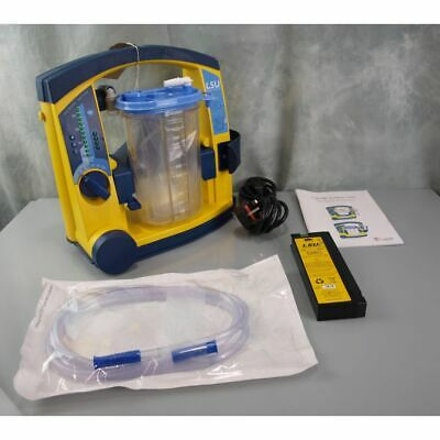 Laerdal Suction Unit LSU with Serres Canister with good attery