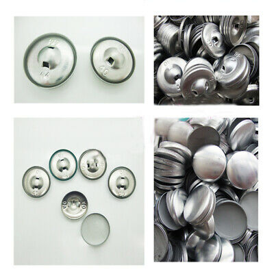 Metal Buttons Blanks For Self Easy Cover Button Machine For Fabric/Upholstery