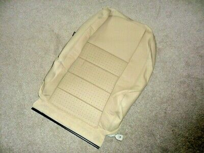 Land Rover Discovery 3- Front Left Seat Back Cover- Alpaca Leather Hba502150Sms