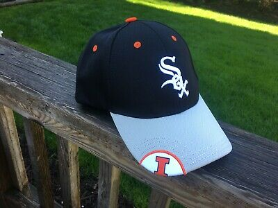 5c3589092 UNIVERSITY OF ILLINOIS Chicago White Sox hat limited SGA ILLINI new ...