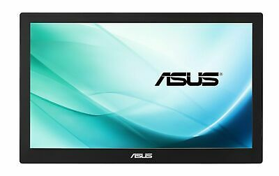 "ASUS MB169C+ 15.6"" IPS Full HD LED Monitor Widescreen 16:9 Ratio, USB Type C"