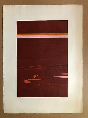 1970 Pencil-Signed Colograph BEATRICE BERLIN (1922-2010) 'Dawn' Artist's Proof