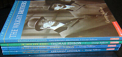 In Their Own Words - Kids Chapter Books - Wright Bro T Edison H Tubman A Lincoln