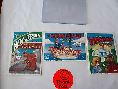 Mixed Lot Alf Trading Cards Lot Of 3