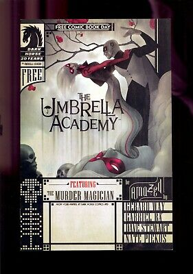 Umbrella Academy Free Comic Book Day 2007  Near Mint  Gerard Way   Comic Kings