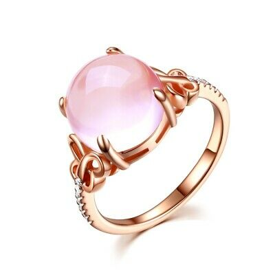 Elegant Women's Adjustable Open Rings Crystal Wedding Ring Crystal Jewelry Gifts