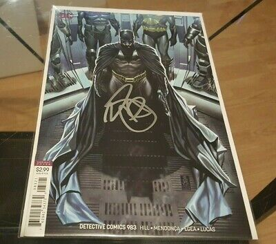 Detective Comics (Batman) #983 Variant Signed by Mark Brooks NM